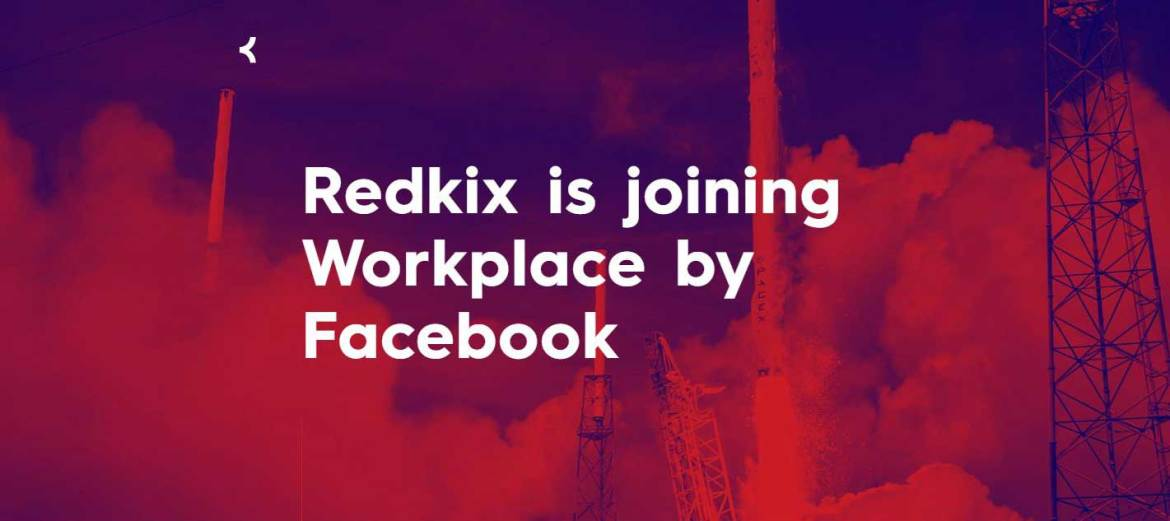 Facebook Workplace schluckt Redkix. (Screenshot: moobilux.com)