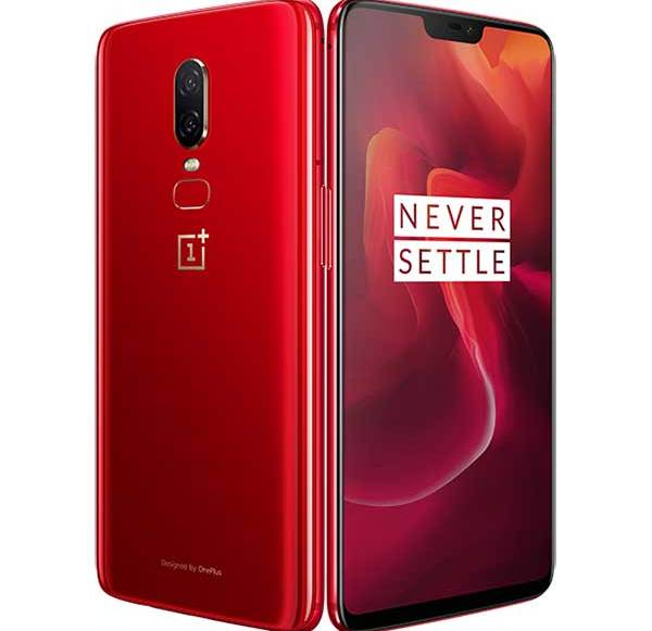 Red OnePlus 6 officially confirmed