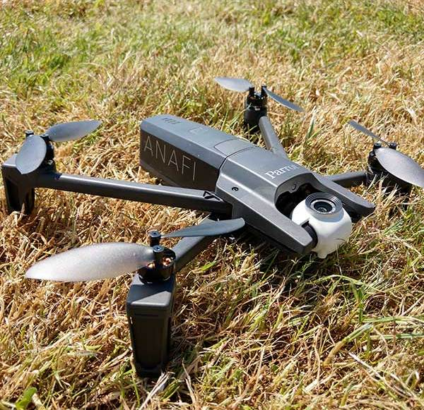 Parrot introduces 4K drone Anafi