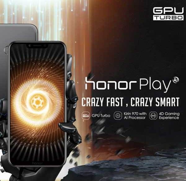 IFA18: Gaming-Smartphone Honor Play vorgestellt