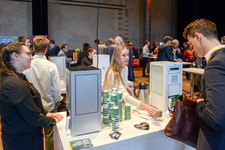 """Die Bonaverde """"Berlin"""" sorgte auf dem NKF Summit in Berlin für frischen Kaffee."""