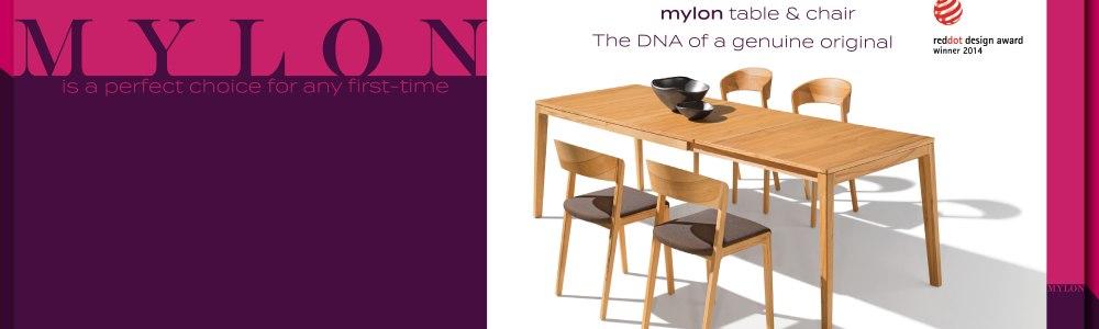 【進口家具-Team7】實木伸縮餐桌 Mylon
