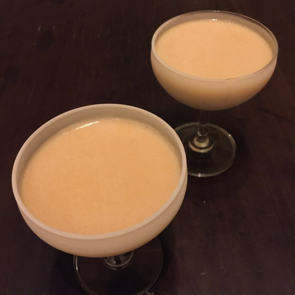 Maroued on a Dessert Island - a modernist cocktail by Hanoi's Mood Therapist, Rich McDonough