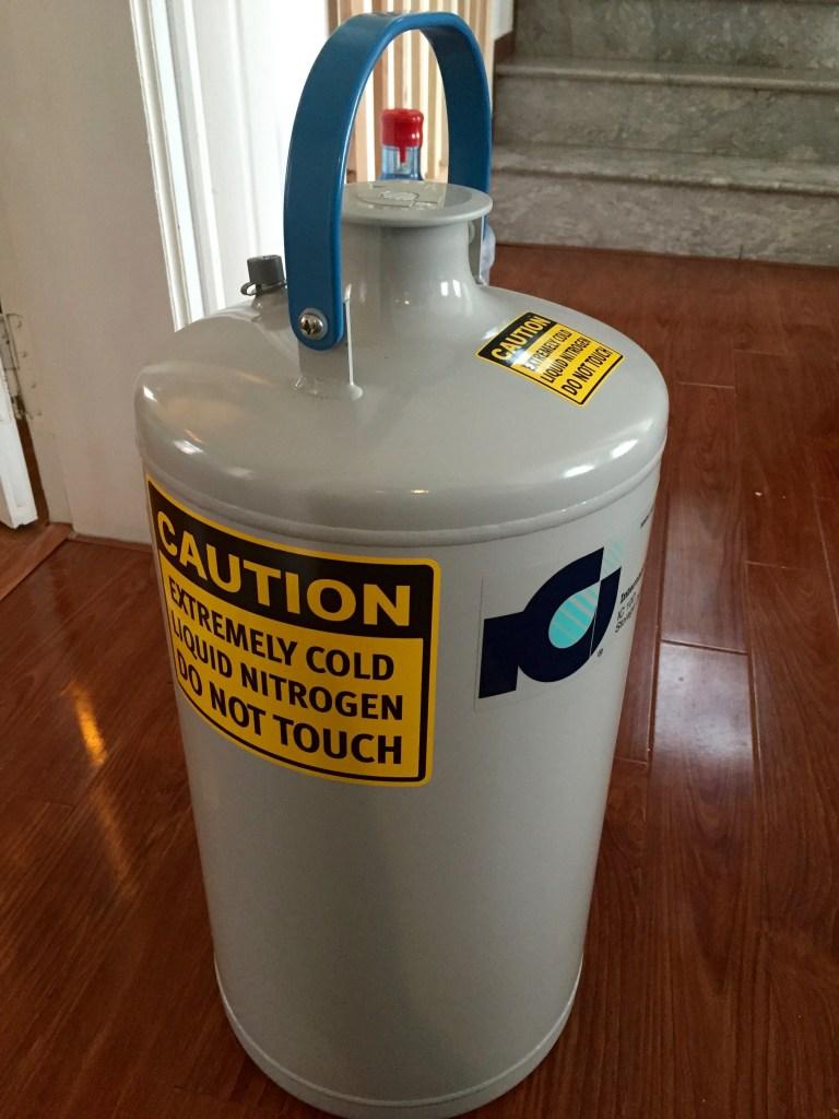 International Cryogenics Liquid Nitrogen Dewar - My Modernist Home Bar - The Mood Therapist, Rich McDonough