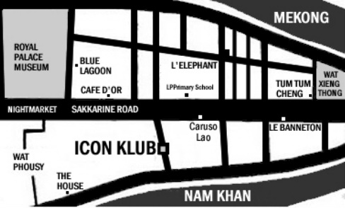 Icon Klub Map Luang Prabang Film Festival Mood Therapist event