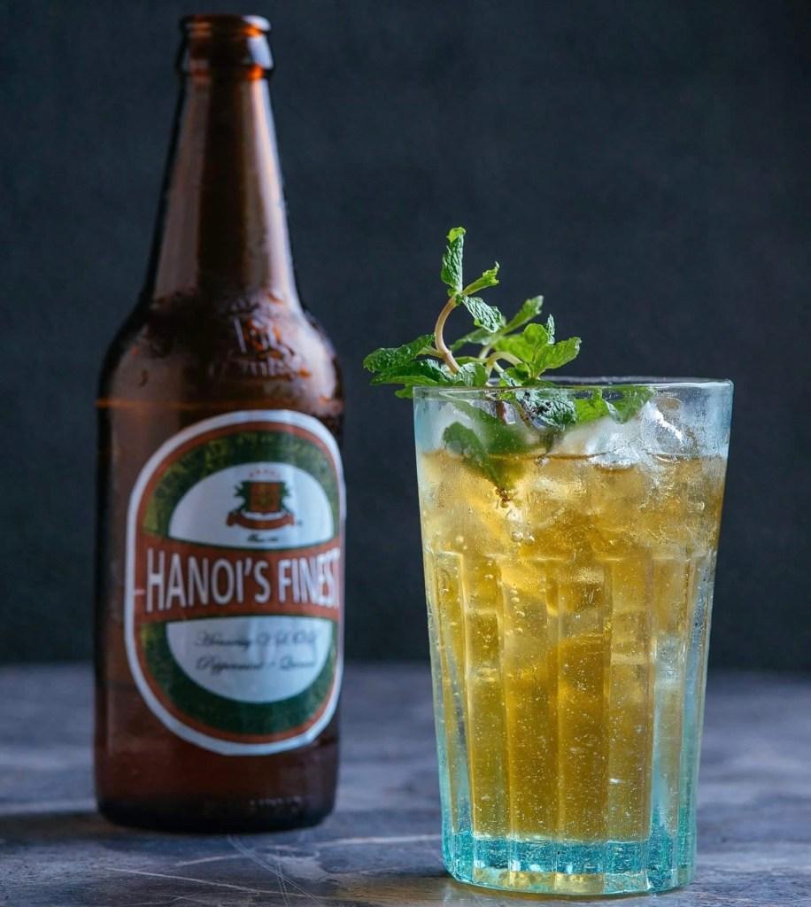 Hanoi's Finest Cocktail by the Mood Therapist Molecular Night 2.0 JW Marriott