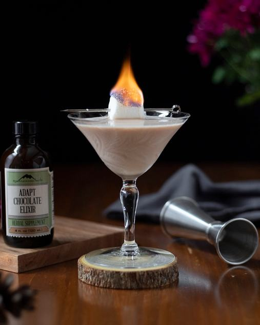 Adaptogenic Bourbon Alexander