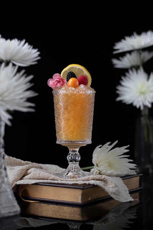 Earl Grey Cobbler Mocktail