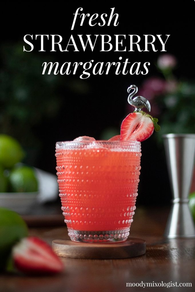 Fresh Strawberry Margarita Moody Mixologist