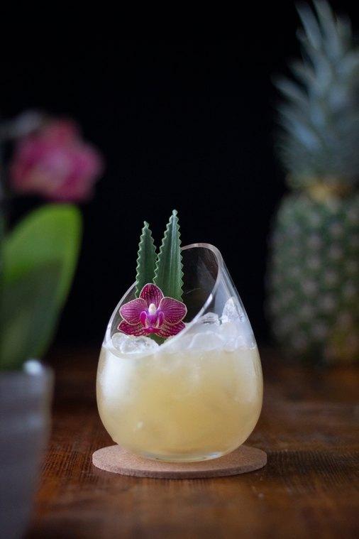 Pineapple Chamomile Lemonade