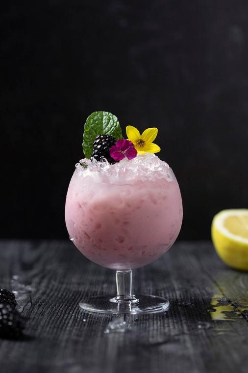 Blackberry Jamble Mocktail