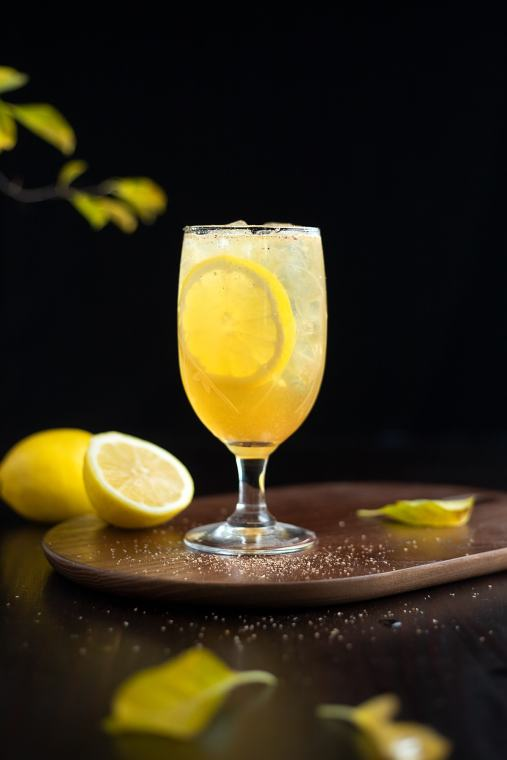 Fish House Punch (For One)