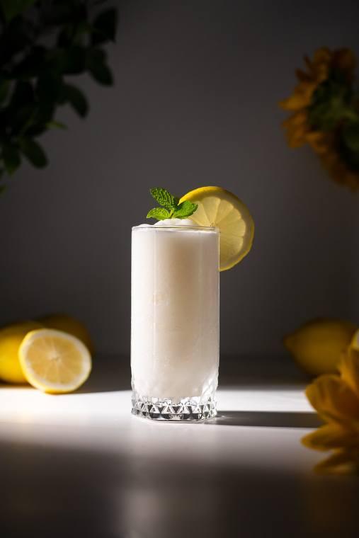 Two Ingredient Whipped Lemonade