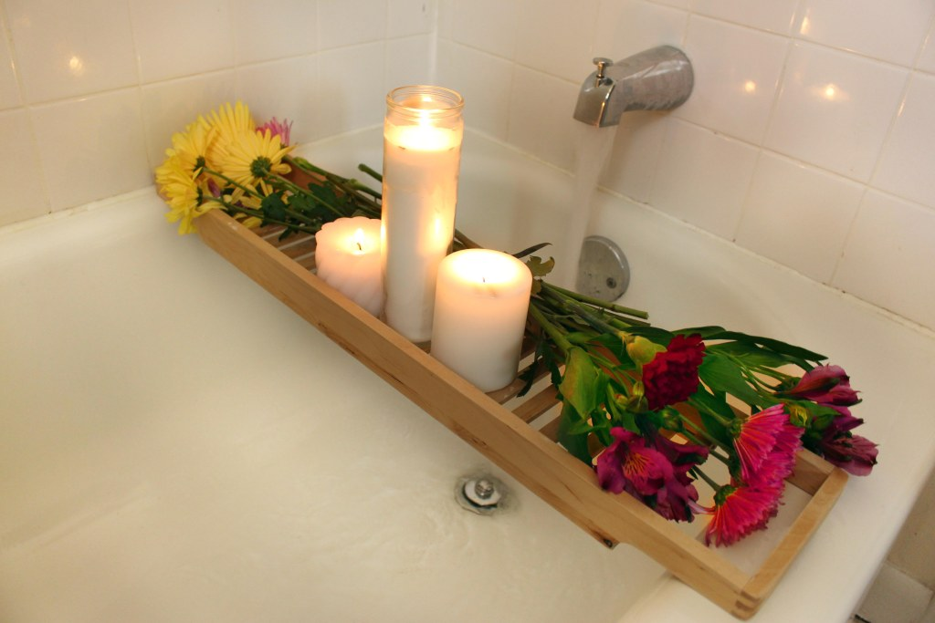 Goddess bath ritual for Beltane beauty.