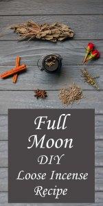 Full Moon Incense Loose Herbal Blend
