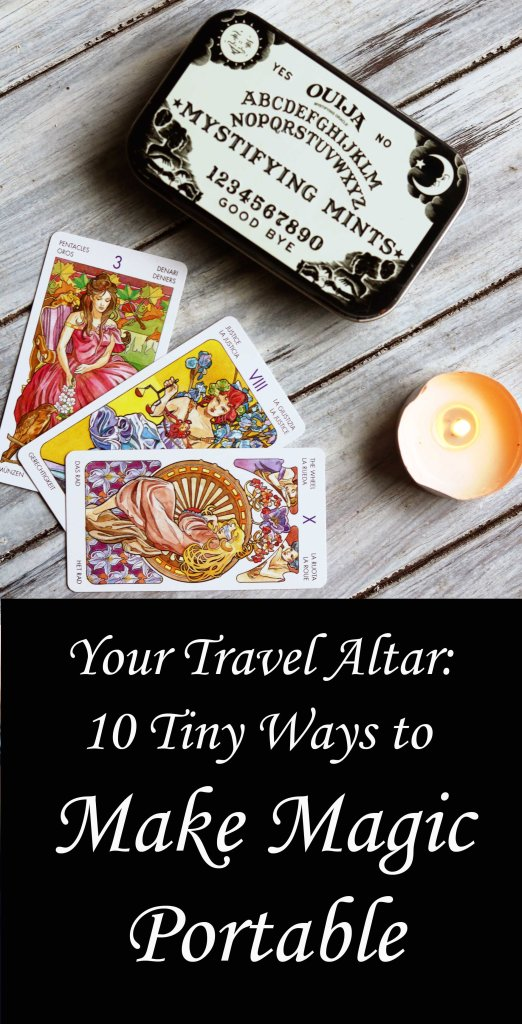 How to assemble a mini travel altar for bringing magic on the road.