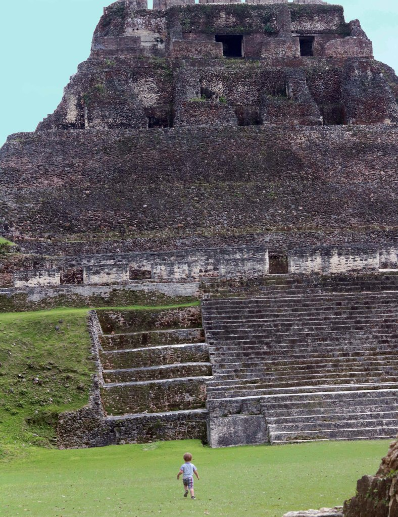 Xunantunich Mayan Temple in Belize--this month's haunted travel destination!