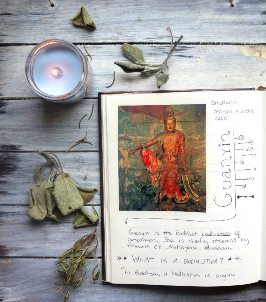 Guanyin journal idea.