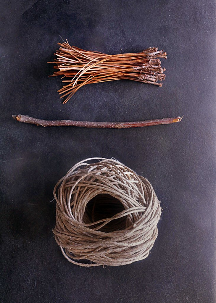 Things you will need to make a besom.