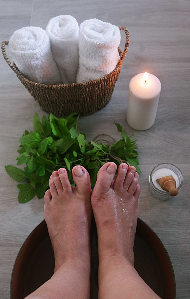 Ritual Hot Foot Soak for the Winter Solstice or Cold Moon