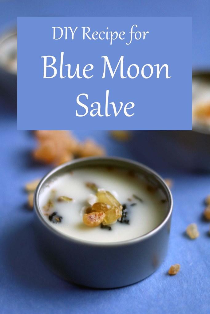 DIY Blue moon salve recipe.