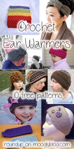 free crochet ear warmer patterns free crochet headband patterns