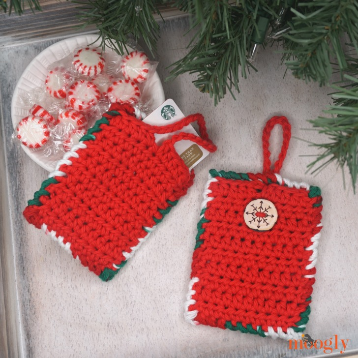 Hanging Gift Card Holder And Luggage Tag Free Pattern On
