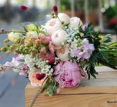 Pretty peony; dé verrassing voor je bruidsboeket