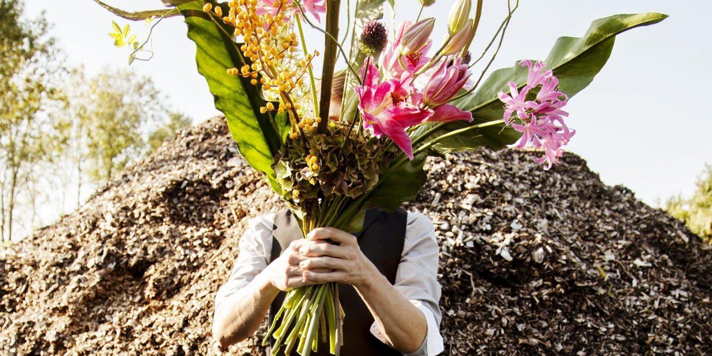 Bloemen bezorgen of afhalen