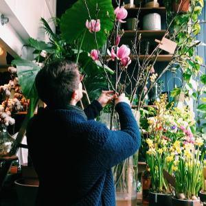 magnolia takken bij ons in de winkel
