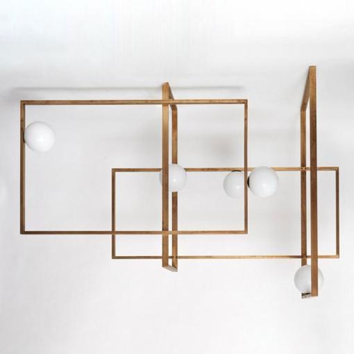 Mondrian Glass Ceiling light