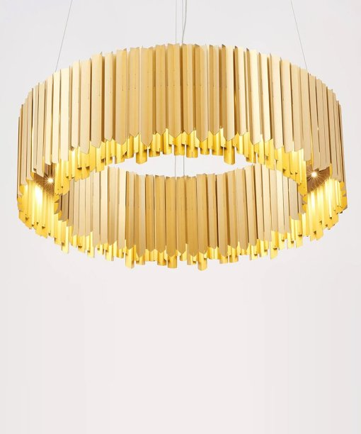 Facet chandelier collection