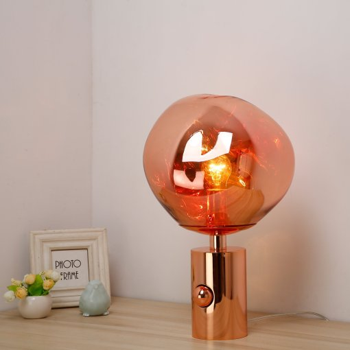 Melt floor and table lamp