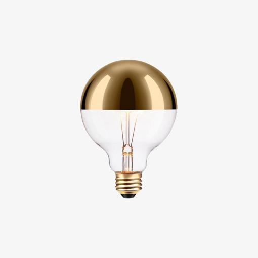 LED Light Bulb - Gold-Tipped