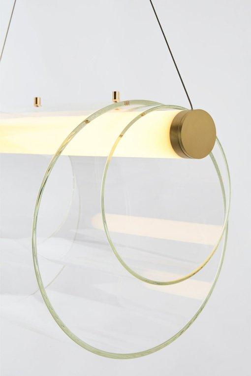 Lâmpada pingente coaxial