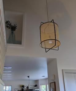 Rattan Cane Pendant Light