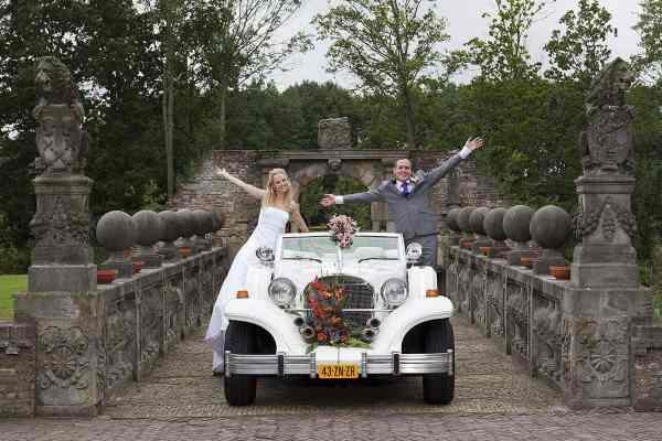 trouwreportage trouwen oude slot heemstede