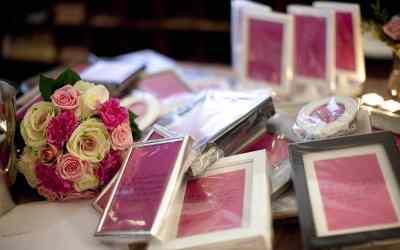 Fotolijstje als bedankje op de bruiloft