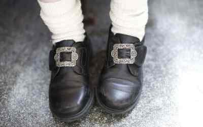 """Noorse schoenen op de """"Noorse"""" bruiloft"""