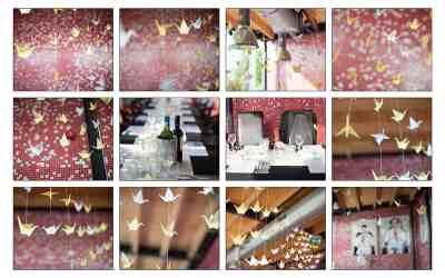 1000 origami kraanvogels vouwen voor het trouwen brengt geluk in het huwelijk!