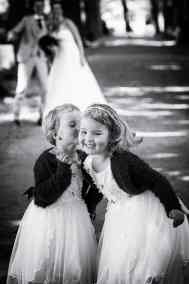 bruidskinderen trouwfoto