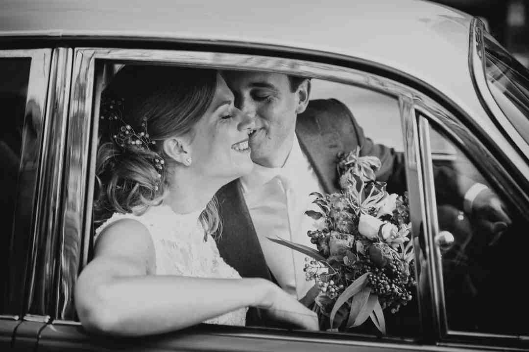 zwart-wit bruidsfotografie Rotterdam
