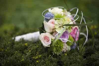 mooi bruidsboeket voorbeeld bloemen trouwen trouwdag