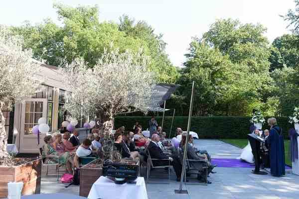 trouwlocatie restaurant Landgoed Groenendaal Heemstede toplocatie trouwen bruidsfotograaf trouwreportage trouwfoto