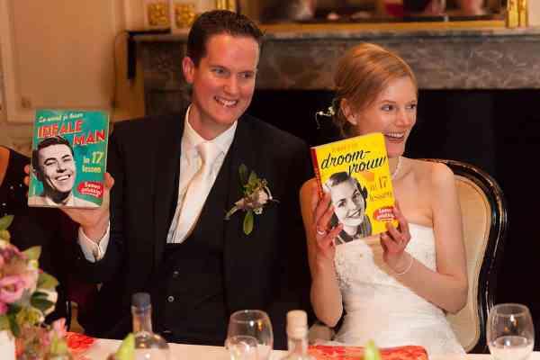 ideale man droomvrouw droomman ridder boek kado cadeau trouwdag trouwen bruiloft
