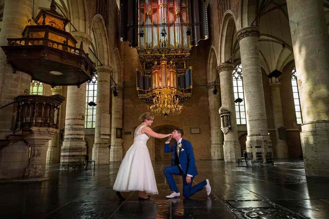 bruidsfoto Leiden