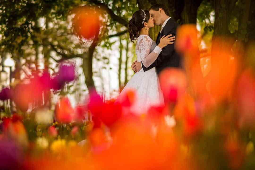 bruidsfoto Keukenhof