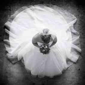 Bruidsfotografie bruid