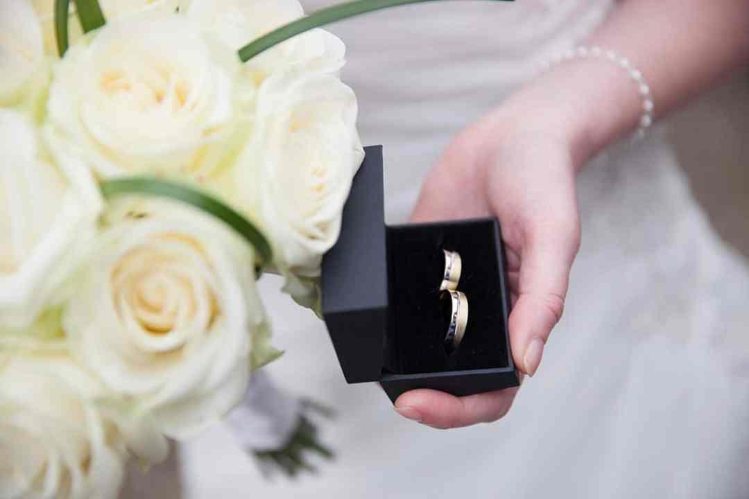 Bruidsfotografie trouwringen