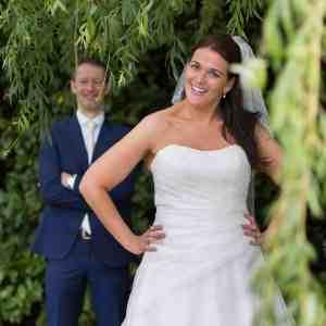 positieve reactie bruidspaar fotograaf trouwreportage tevreden